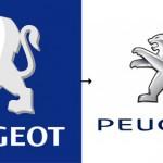 Peugeot's new logo