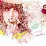 Elodie – illustration